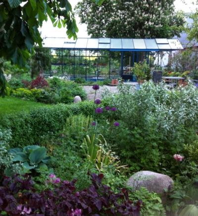 Vi har väldigt olika växthus men alla är väldigt inspirerande
